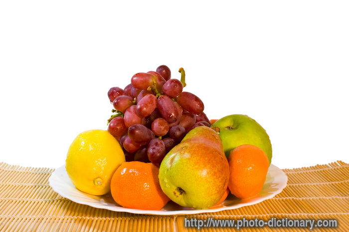 ripe fruits - photo/picture definition at Photo Dictionary