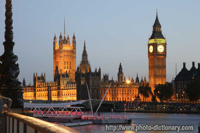 big ben and the westminster palace