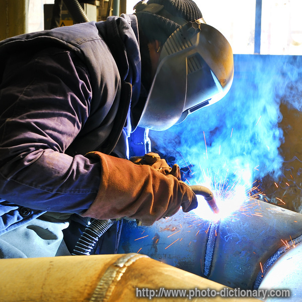welding photopicture definition at photo dictionary welding - Description Of A Welder