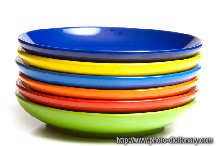 saucers - photo/picture definition at Photo Dictionary