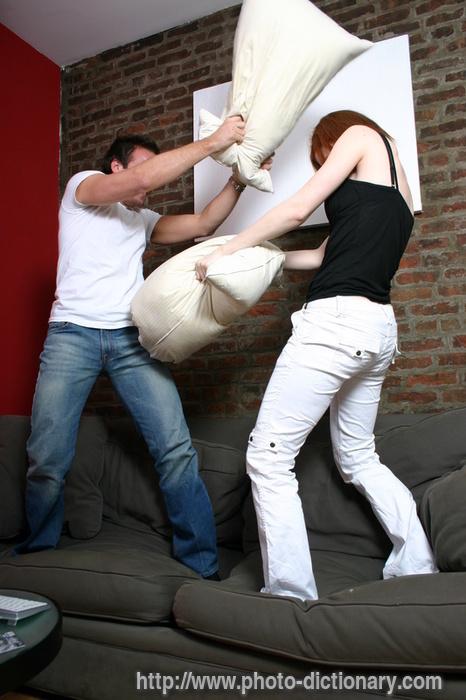 pillow fight