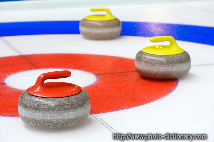 Curling Stones Photo Picture Definition At Photo