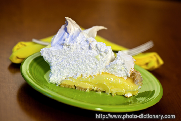 key lime meringue pie - photo/picture definition - key lime meringue ...