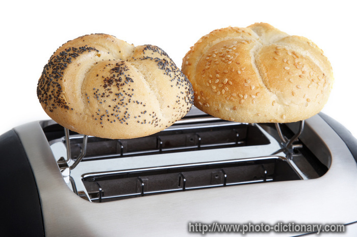 kaiser bread - photo/picture definition at Photo Dictionary