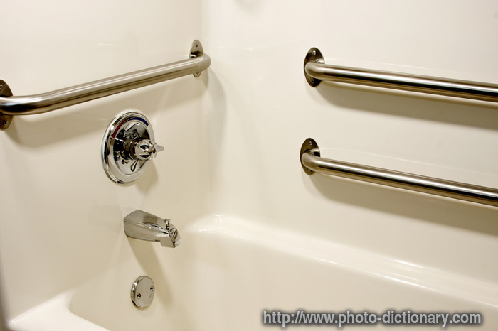 Grab Safety Bars Photo Picture Definition At Photo