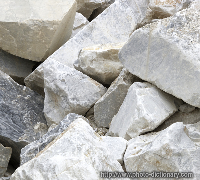 Marble Blocks Photo Picture Definition At Photo