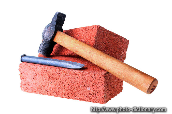 building materials - photo/picture definition - building materials word and  phrase image