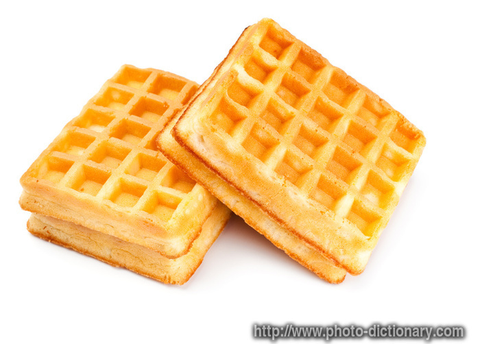 soft waffles - photo/picture definition - soft waffles word and phrase ...