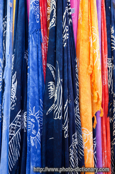 cretan scarfs photo picture definition at photo