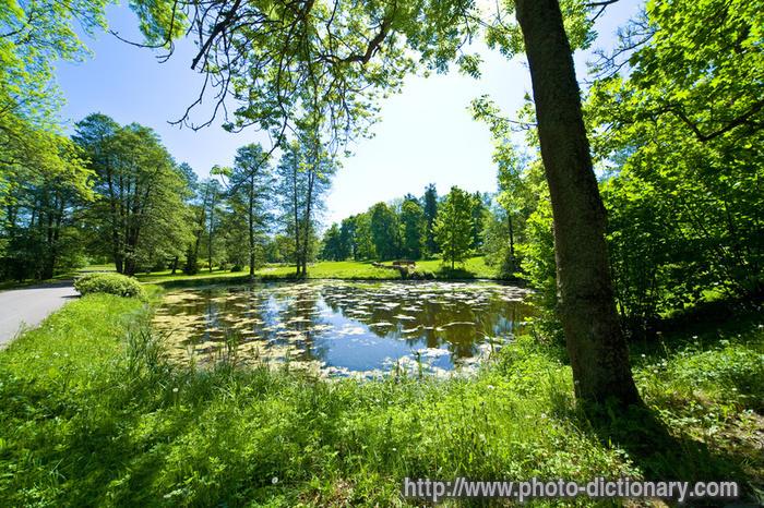 garden of eden photo picture definition at photo dictionary garden of eden word and phrase