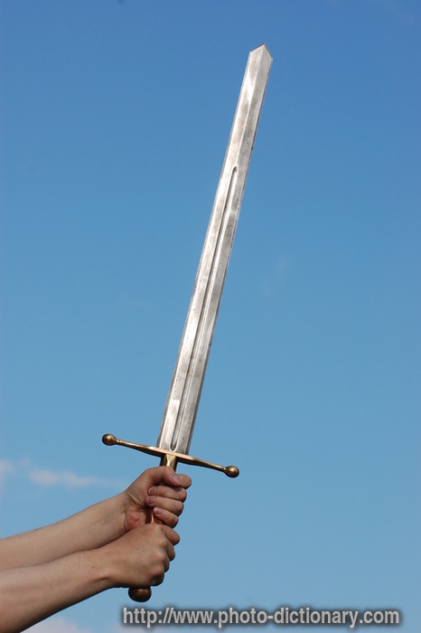 Medieval Sword Photo Picture Definition At Photo