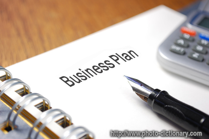 business plan photo picture definition at photo dictionary