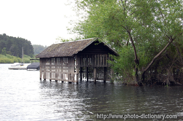Boat Garage Photo Picture Definition At Photo Dictionary