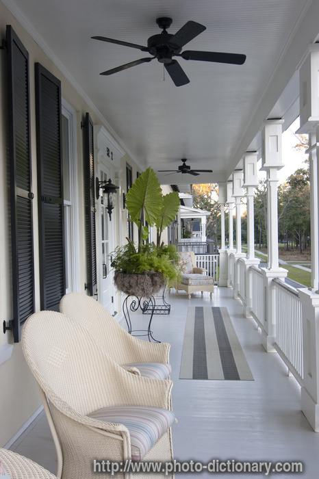 porch photo picture definition at photo dictionary porch word and phrase defined by its. Black Bedroom Furniture Sets. Home Design Ideas