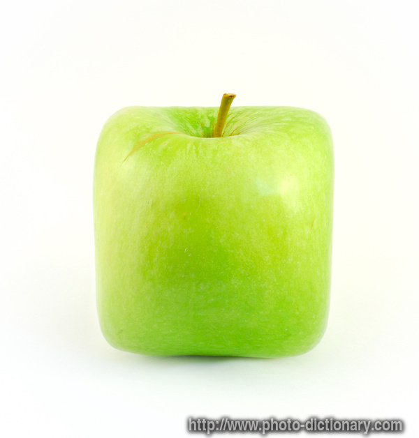 square apple - photo/picture definition at Photo ...