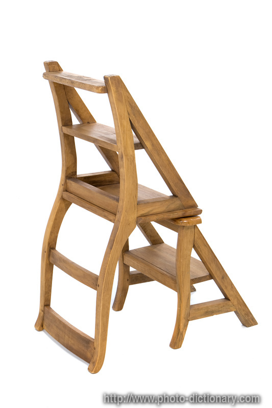 1000 Images About Library Ladder Chair On Pinterest