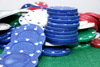 poker chips - photo/picture definition - poker chips word and phrase image