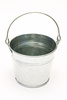 metal bucket - photo/picture definition - metal bucket word and phrase image