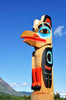 eagle totem pole - photo/picture definition - eagle totem pole word and phrase image