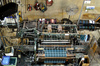 textile machine - photo/picture definition - textile machine word and phrase image