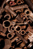 scrap metal waste - photo/picture definition - scrap metal waste word and phrase image