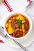 chorizo soup - photo/picture definition - chorizo soup word and phrase image