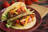 Mexican tacos - photo/picture definition - Mexican tacos word and phrase image