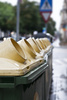 trash cans - photo/picture definition - trash cans word and phrase image