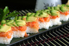 salmon tartar sushi - photo/picture definition - salmon tartar sushi word and phrase image