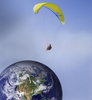 parachuting - photo/picture definition - parachuting word and phrase image