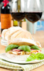 gourmet sandwich - photo/picture definition - gourmet sandwich word and phrase image
