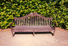English bench - photo/picture definition - English bench word and phrase image