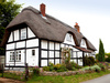 traditional thatched cottage - photo/picture definition - traditional thatched cottage word and phrase image