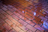 wet brickwork - photo/picture definition - wet brickwork word and phrase image