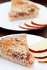 rhubarb crumble pie - photo/picture definition - rhubarb crumble pie word and phrase image
