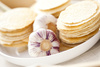 garlic wafles - photo/picture definition - garlic wafles word and phrase image