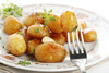 glazed potatoes - photo/picture definition - glazed potatoes word and phrase image