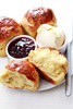 fresh baked brioches - photo/picture definition - fresh baked brioches word and phrase image