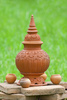 Thai clay pot - photo/picture definition - Thai clay pot word and phrase image