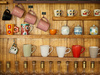 cup collection - photo/picture definition - cup collection word and phrase image