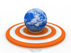 global target - photo/picture definition - global target word and phrase image