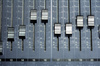 mixer console - photo/picture definition - mixer console word and phrase image