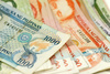 Philippine banknotes - photo/picture definition - Philippine banknotes word and phrase image