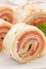 salmon rolls - photo/picture definition - salmon rolls word and phrase image