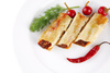 stuffed cannelloni - photo/picture definition - stuffed cannelloni word and phrase image