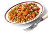 vegetable salad - photo/picture definition - vegetable salad word and phrase image