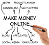 make money online - photo/picture definition - make money online word and phrase image