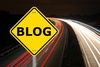 blog traffic - photo/picture definition - blog traffic word and phrase image