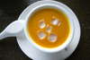 papaya soup - photo/picture definition - papaya soup word and phrase image