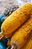 grilled corn - photo/picture definition - grilled corn word and phrase image